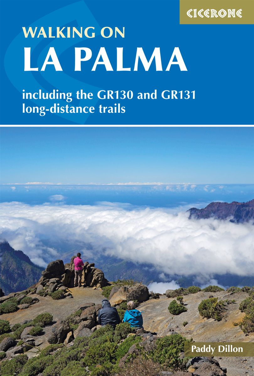 Walking in La Palma by Paddy Dillon Front Cover