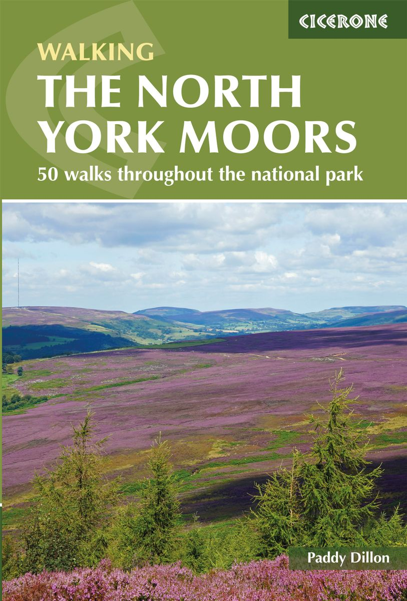 North York Moors by Paddy Dillon Front Cover