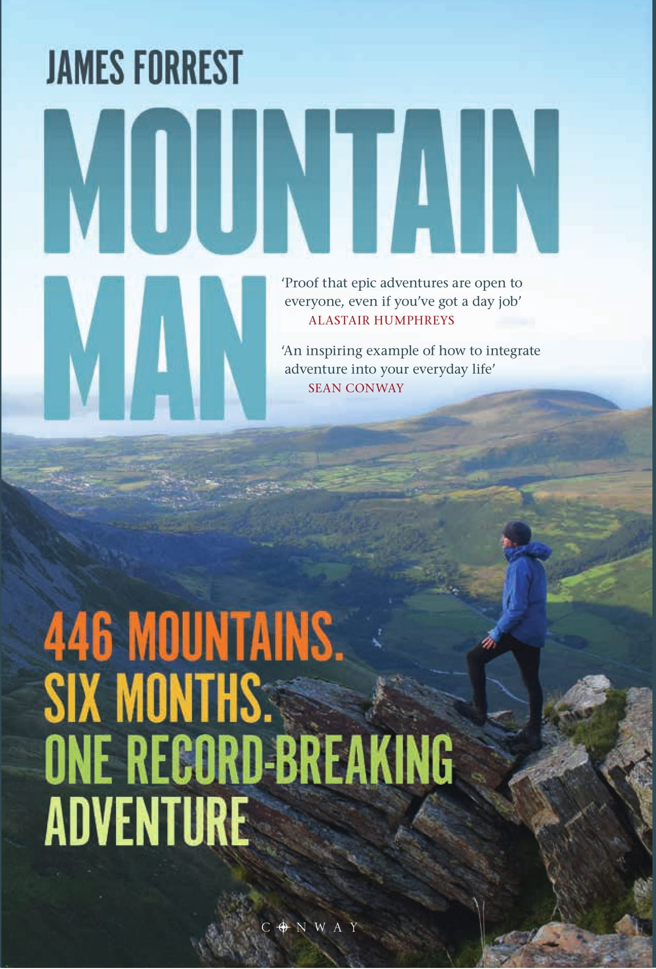 Front cover of Mountain Man by James Forrest